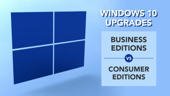 windows 10 updates business consumer editions
