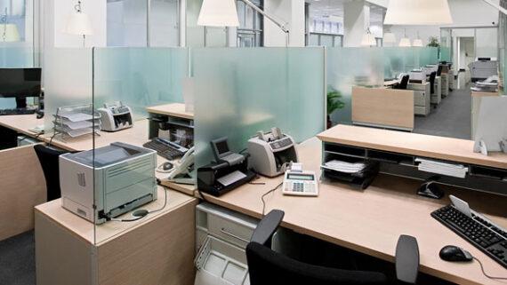 Office Empty Desks
