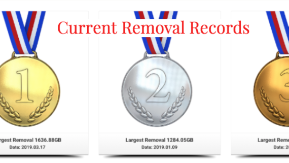 Current Removal Records