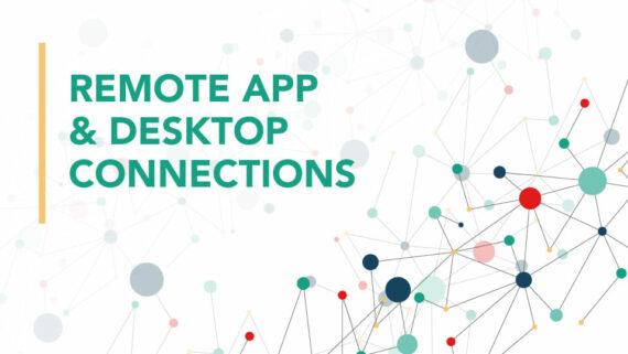 Remote app & desktop connections